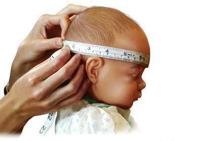 ¿Cómo se mide el perímetro cefálico?